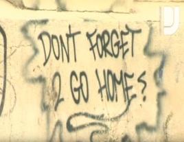 Graffiti outside Berghain